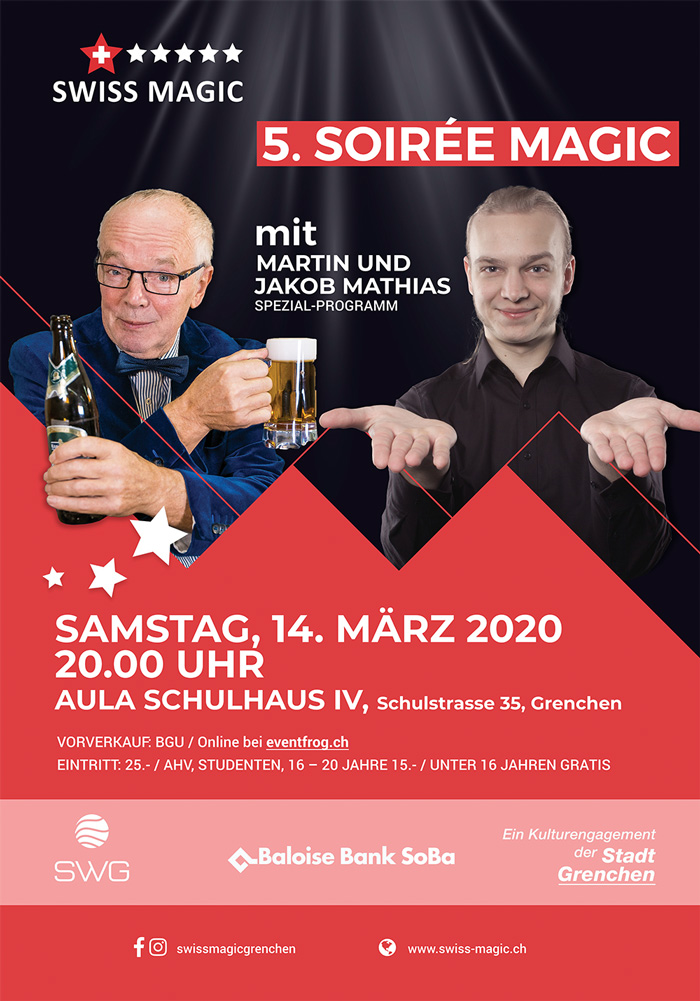 Soirée Magic 2020 Flyer